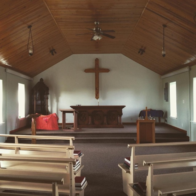 St. James Chapel interior