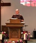 Mother Lauren preached twice.