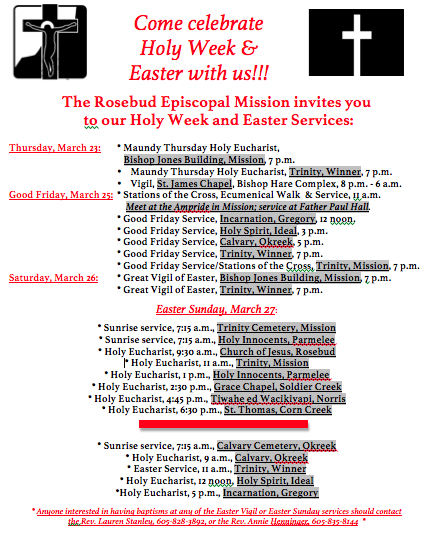 Holy Week:Easter for FB Maundy Thursday