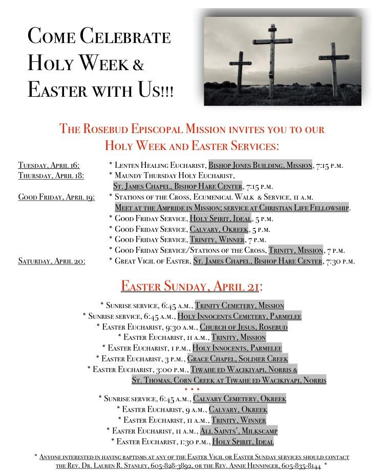 Holy Week-Easter FB